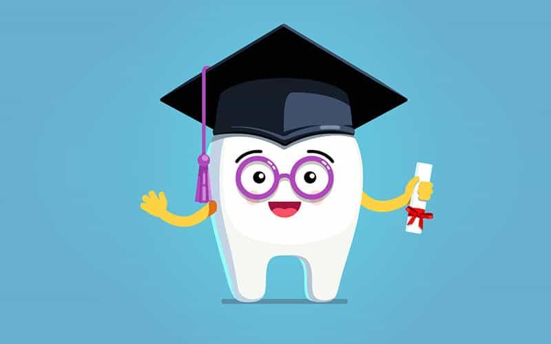 getting dental work done at a school