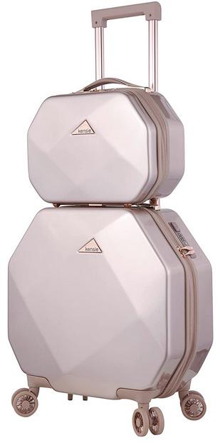 kensie gemstone luggage